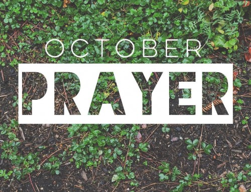 October Prayer