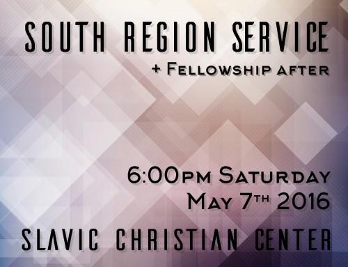 South Region Service
